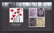 GB GREAT BRITAIN 2006 LEST WE FORGET 1st ISSUE MINI SHEET NEVER HINGED MINT