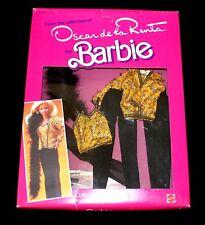 Oscar De La Renta Barbie Fashion Series Vii #9261 New Nrfb 1984 Mattel, Inc.
