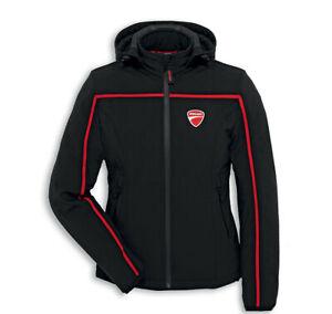 Ducati Spidi Redline Ladies Textile Jacket Fabric Jacket Black Red Lady New