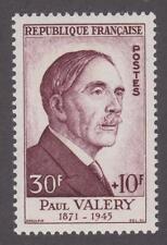 France 1954 #B290 Portrait (Paul Valéry) MNH