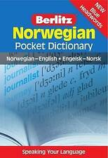 Berlitz: Norwegian Pocket Dictionary: Norwegian-English = Engelsk-Norsk by...