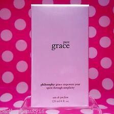 Philosophy PURE GRACE EAU DE PARFUM SPRAY! 4oz LUXURY SIZE! NEW-SEALED-BOXED!