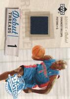 2005-06 Upper Deck Rookie Debut Basketball Threads JERSEY #DtCH Chauncey Billups