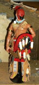 1/6 Dog Soldiers Native American Pawnee warrior action figure 1810 - 1870s loose