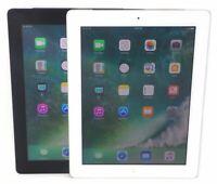 Apple iPad 4th Generation 9.7in 16GB 32GB 128GB Wi-Fi + Cellular Black / White