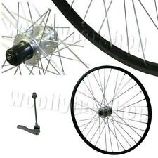 "26"" Mountain Bike DISC Rear Wheel Cassette Hub TWR116BK Black Rim / Silver Hub"