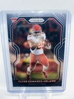2020 Panini Prizm Clyde Edwards-Helaire #328 BASE Rookie Card RC Chiefs PSA NM