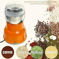 300W 220V Elektrische Kaffeemühle Mahlen Bohnengewürze Nussmaschine N9Z6