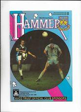 WEST HAM UNITED V ASTON VILLA 18/01/1989 LEAGUE CUP QUARTER FINAL (a)