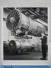 PHOTO PRESSE BOURGET PRATT & WHITNEY AIRCRAFT JT8D-15 TURBOFAN ENGINE