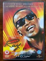 Ray DVD 2004 Charles True Life Musical Biographical Drama Movie 2 Discs