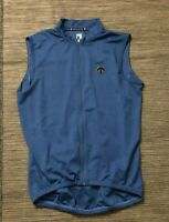 Descente Adult Mens Large Full Zip Sleeveless Jersey