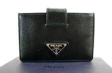 PRADA BLACK CREDIT CARD CASE NEW