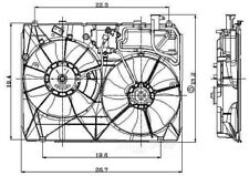 Engine Cooling Fan Assembly Global 2811554 fits 2004 Toyota Sienna 3.3L-V6