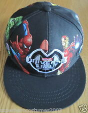 Marvel Heroes Hulk Thor Iron Man Wolverine Captain America Adjustable Child Hat