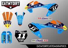 Para KTM 65 2016-2018 kit completo personalizado de gráficos Pegatinas Calcomanías De Motocross MX