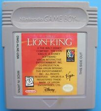 Disney's The Lion King Nintendo Game Boy plays on Color, Advance, SP System