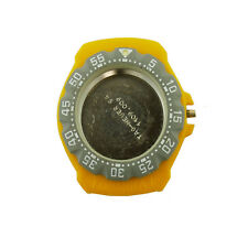 TAG HEUER FORMULA 1 382.513 GRAY BEZEL / YELLOW CASE FOR PARTS OR REPAIRS