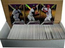 2016 Topps Triple Threads Purple  1-100 Card Full Set Mike Trout Babe Ruth/340