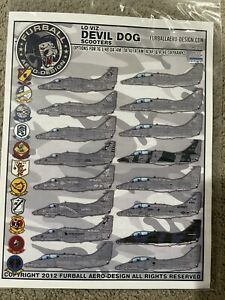 1:48 Furball Decals A-4M Devil Dogs