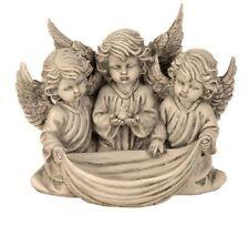 Engel Gruppe 20 cm Grabschmuck Grabdeko Grabstein Gedenkstein Angel Figur NEU