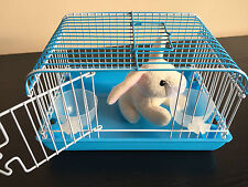 Perfect Kids Christmas Present, Bring their Toy Pet to Life! Miniature Cage Blue
