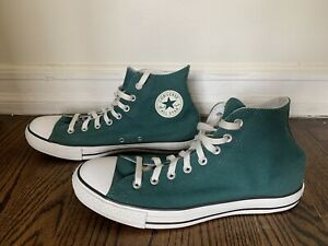 Converse Chuck Taylor All Star Classic Vintage High Top Green Size 11