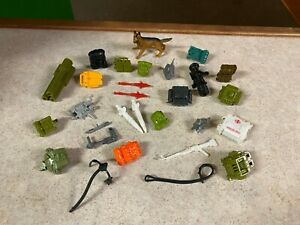 GIJOE COBRA Vintage 1982 - 1994  Figure Accessories Weapons Guns Parts LOT #7