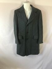 Men's EATON'S Mens Shops Blue/Black Trench Coat - Sz Not Provided