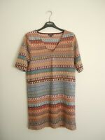 TopShop tunic dress top size 12-14 (UK14/US10) suits multi occasions