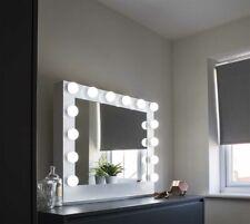 Articles pour la maison DEL Light Up Brillant Flottant Cristal Grand miroir mural 110x70cm