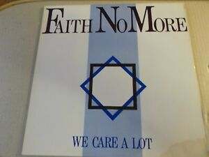 FAITH NO MORE,WE CARE A LOT,LP ON MORDAM MDR1,1985