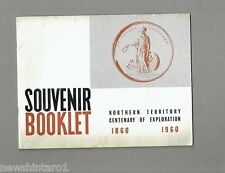 #T46. NORTHERN TERRITORY 1860-1960 SOUVENIR BOOKLET