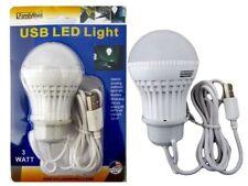 3W USB Power Natural White LED Night Light Bulb Portable Lamp Reading AD-28471F