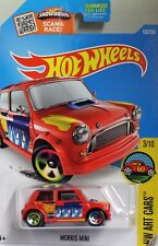 HotWheels Red  Mini Cooper Mint on mint USA card
