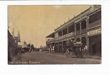 BALMAIN  NSW Darling Street c.1900s TRAM  Horse drawn Coach/Bus H.A. SCOTT & CO