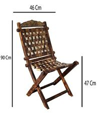 Wooden polished outdoor folding sitting chair comfortable relax camping chair