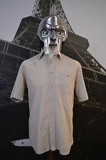 Lacoste Men's Multi Short Sleeved Shirt Size 39( Medium ,Large)