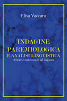 Indagine paremiologica e analisi linguistica -  Elisa Vaccaro,  2019,  Youcanpri