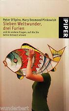 y~ siete maravillas del mundo,tres FURIAS Peter D'EPIRO/Mary d. PINKOWISH tb