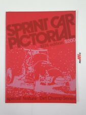 Sprint Car Pictorial 1974 Edition USAC Sprint Dirt Champ Review Yearbook