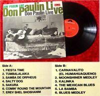 LP Don Paulin Live 1963 seltenes Polydor Originalalbum