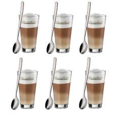 WMF Latte Macchiato Set | 6 Gläser und 6 Löffel im Geschenkkarton NEU & OVP