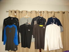 UNDER ARMOUR NIKE mens sz large shirt lot of {8} shirts compression cold gear