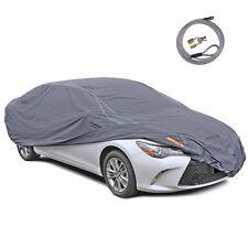 Motor Trend Car Cover 100% Waterproof Wind UV Snow Proof Outdoor upto 210 inch