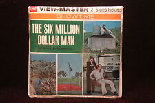 The Six Million Dollar Man Viewmaster 1974 Factory Sealed  ABC TV Series