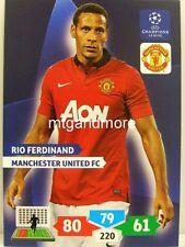 Adrenalyn XL Champions League 13/14 - Rio Ferdinand-manchester United FC