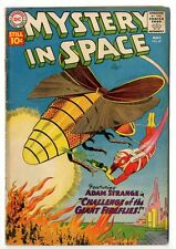 Mystery In Space No. 67, Light Tan Pages, Stains, GD/VG
