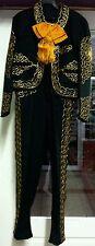Men's Mariachi Charro Suit Set Mexico Folklorico 5 De Mayo Fiesta Dance Costume