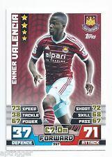 2014 / 2015 EPL Match Attax Base Card (357) Enner VALENCIA West Ham United